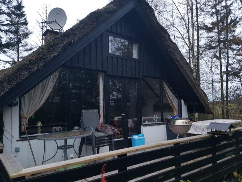 Das Ferienhaus bei Ejstrupholm in Mitteldänemark
